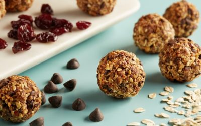 Chocolate Chip Cherry Bliss Balls