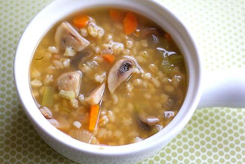 Mushroom Barley Stew