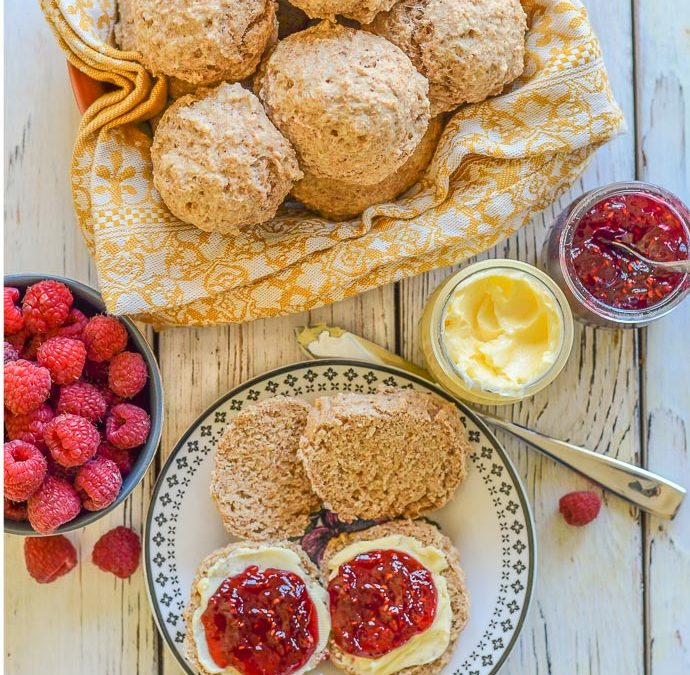 Healthy Oil-Free Vegan Biscuits