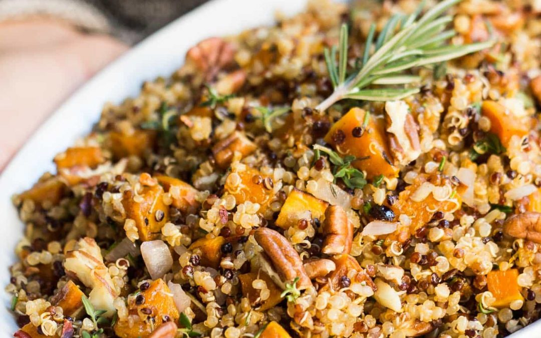 Easy Quinoa Stuffing